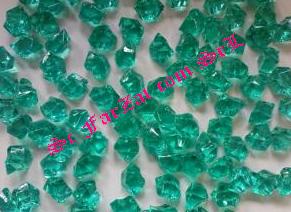 Pietricele decorative culoare verde