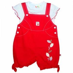 Costumas fete rosu lebe kids