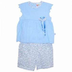 Costumas fete bleu/roz lebe kids