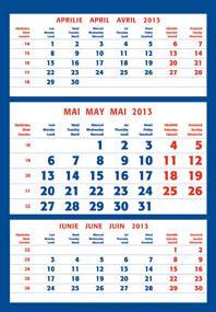 Calendare triptice 2013 | colectia EGO