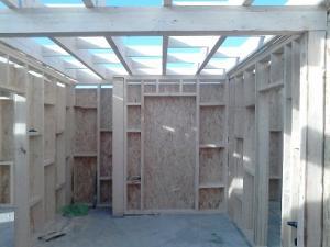 Case lemn tip american