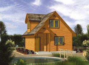 Case din lemn preturi
