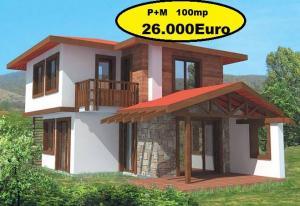 Case ieftine din lemn