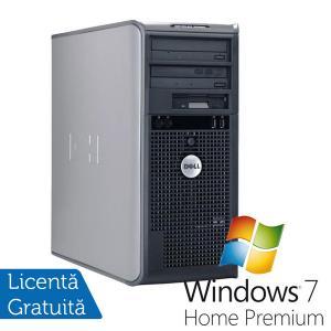 Calculator Refurbished Dell Optiplex 745 Tower, Intel Core 2 Duo E6300, 1.86Ghz, 2Gb DDR2, 80Gb SATA, DVD-ROM + Win 7 Premium