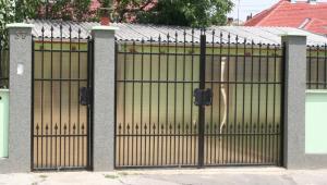 Porti garduri fier forjat