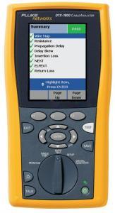 Analizor retele cablu Fluke Networks DTX-1800 certificare retea cupru CAT6 CAT7 CAT6a CAT7a