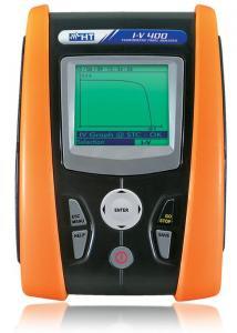 Tester verificare trasare caracteristica curba I-V panouri celule fotovoltaice
