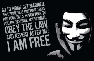 "Tricou ""Anonymous"""