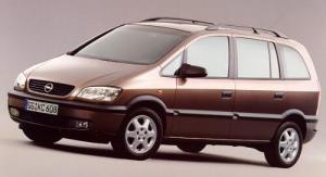 Inchiriere Opel Zafira 1,6 L  100CP, caroserie 5 usi