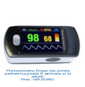Pulsoximetre pediatrice