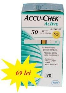 Accu chek active teste glicemie