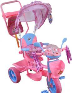 Tricicleta inalta