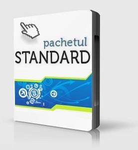 Web design pachet standard