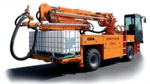 CIFA SPRAYED CONCRETE MACHINES