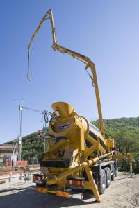 Malaxor beton 200 l