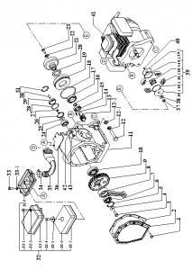 Piese de schimb utilaje constructii Technik si Bomag