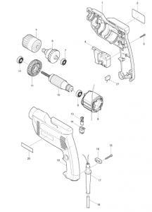 Piese de schimb scule electrice Makita si Bosch