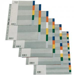 Separatoare plastic 12 culori