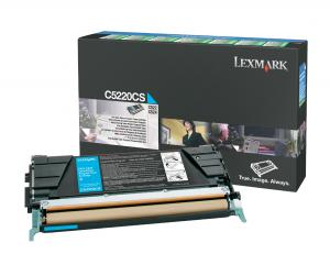 Toner color cyan LEXMARK C5220CS