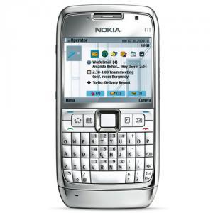 Telefon mobil nokia e71 white