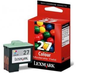 Cartus color 27 lexmark