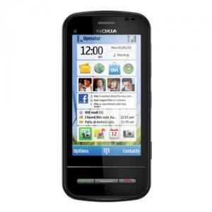 Telefon mobil nokia c6 black
