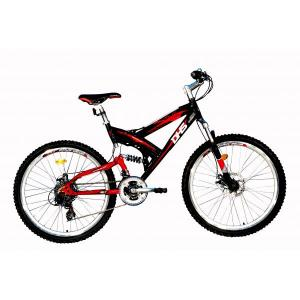 Bicicleta dhs cu suspensie