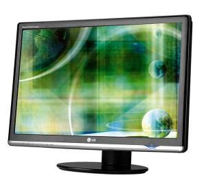 Monitor lcd lg w2600hp bf