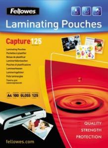 Folii pt. laminare, 111 x 154mm (A6), 100 buc/cutie, FELLOWES