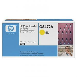 Toner color yellow hp q6472a