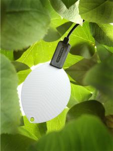 Senzor pentru umiditatea frunzei