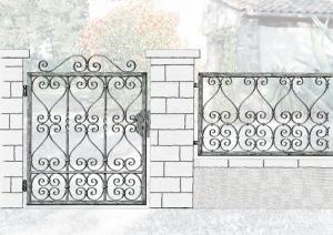 Gard porti fier forjat
