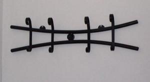 Cuier de perete din fier forjat