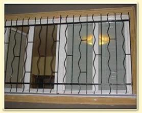 Grilaje pentru geam din fier forjat