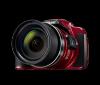 Aparat foto digital nikon coolpix b700 20mp rosu - negru