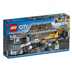 LEGO City Dragster Transporter 333buc. set de constructie