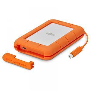 LaCie Rugged Thunderbolt USB-C USB Type-C 3.0 (3.1 Gen 1) 4000Giga Bites Portocala