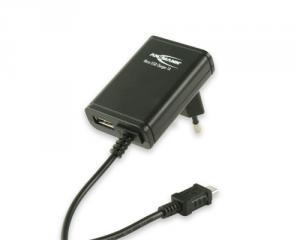 Ansmann Micro-USB Charger 1A De interior Negru