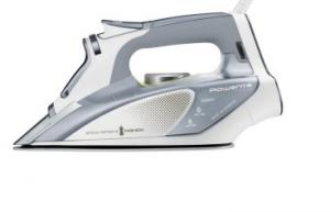 Rowenta FOCUS DW5155 Dry & Steam iron Stainless Steel soleplate 2400W Argint, Alb
