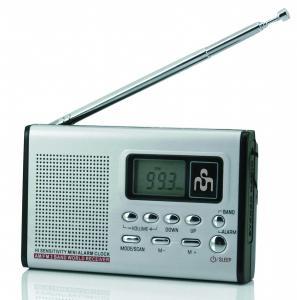 Soundmaster TR3 Portabile Negru, Argint radiouri