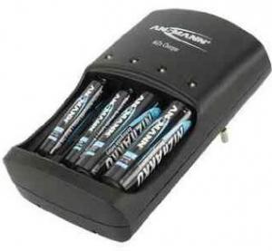 Ansmann 1001-0013 De interior Negru incarcatoare pentru baterii