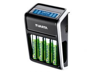 Varta LCD Plug Charger + 4x AA