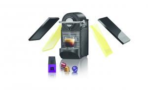 Krups XN3020 Pod coffee machine 0.8L Negru, Galben cafetiere