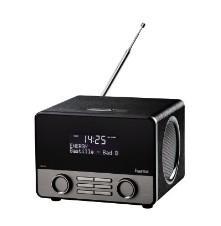 Hama DR1600 Personal Analog & digital Negru radiouri