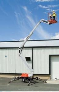 Platforma hidraulica actionata pompa hidraulica