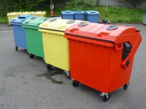 Eurocontainere plastic