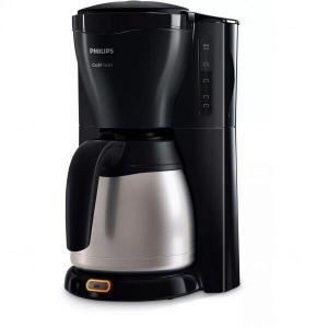 Cafetiera Philips Gaia HD7544/20, 1000 W, vas termorezistent din otel inoxidabil, 1,2 l, sistem anti-picurare, negru