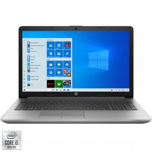 """Laptop HP 250 G7 cu procesor Intel Core i5-1035G1 pana la 3.60 GHz, 15.6"""", Full HD, 8GB, 512GB SSD, Intel UHD Graphics, DVD-RW, Windows 10 Pro, Argintiu"""