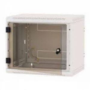 TRITON Rack de perete 19' sectiune simpla 12U 600x600 usa sticla, panouri laterale fixe, securizare