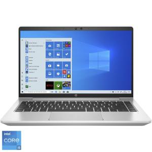 "Laptop ultraportabil HP ProBook 440 G8 cu procesor Intel® Core™ i5-1135G7 pana la 4.20 GHz, 14"", Full HD, 8GB, 512GB SSD, Intel® Iris® Xᵉ Graphics, Windows 10 Pro, Silver"